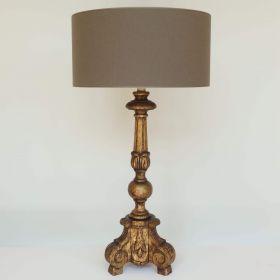 lamp-wood-gold-leaf