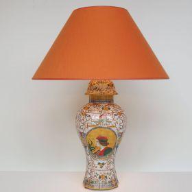 lamp-porcelain-handpainted-italian