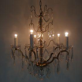 kroonluchter-vuurverguld-kristal-frankrijk-antiek