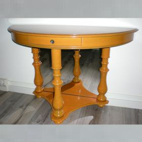 wandtafel-half-rond-antiek-oranje