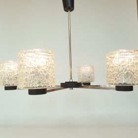 hanging-lamp-nickel-glass-clear-glass-shades-1970s-vintage