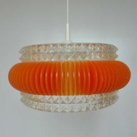 hanglamp-kunststof-oranje-kap-glas-jaren-70-vintage