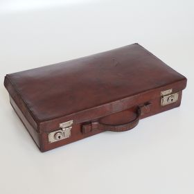 uitcase-leather-cognac-nickel-suitcase fittings-20s