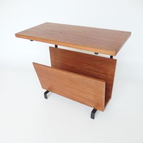 magazine-rack-tabletop-teak-wood-60s-vintage