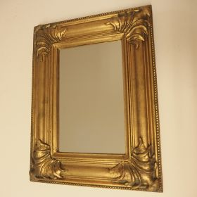 mirror-frame-wood-gold-leaf
