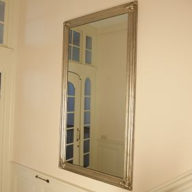 mirror-frame-wood-silver-leaf