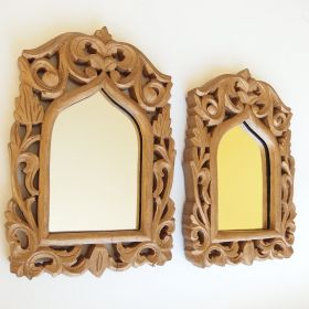 mirror-frame-wood-gold-indian-style