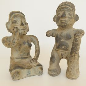 set-figures-terracotta-pottery-pre-Columbian-colima-20th-century